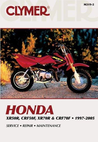 Honda Xr50r, Crf50f, Xr70r & Crf70f 1997-2005 (Clymer Motorcycle Repair)