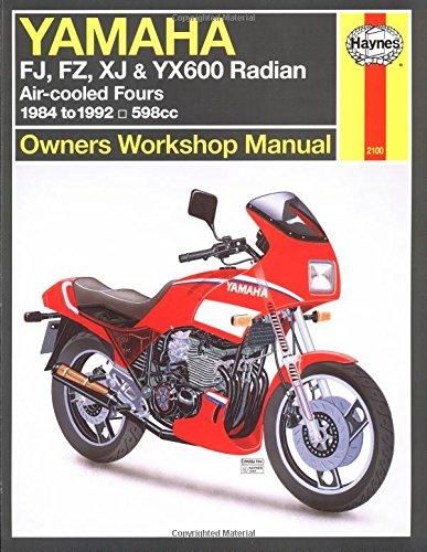 Yamaha FJ, FZ, XJ & YX600 Radian 1984-1992 Repair Manual