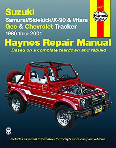 Suzuki 4WD, Geo Tracker, Chevrolet Tracker 1986-2001 Repair Manual