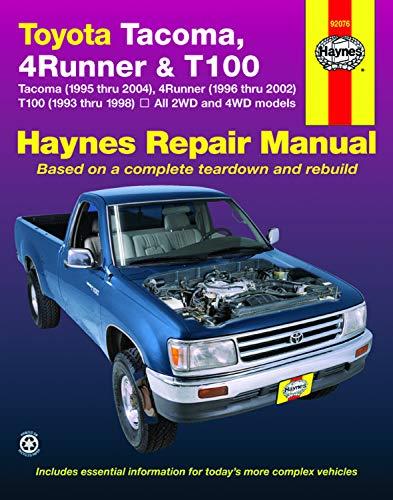 Toyota Tacoma, 4Runner & T100 (93 - 04)