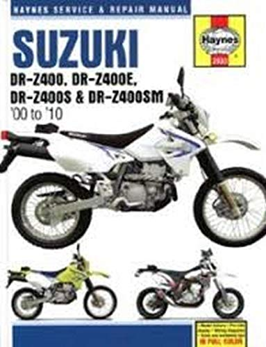 Suzuki DR-Z400, DR-Z400E, DR-Z400S & DR-Z400SM (00 to 10)