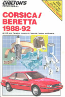 GM Chevrolet Corsica/Beretta, 1988-92