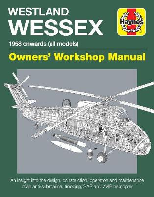 Book cover for product 9781785211171 Westland Wessex Manual