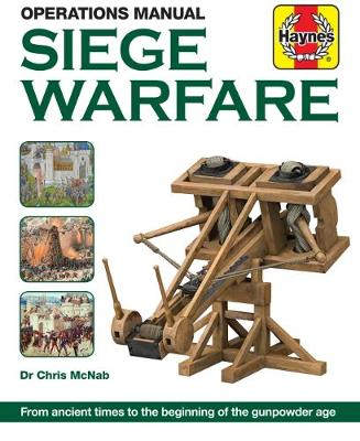 Book cover for product 9781785211461 Siege Warfare Manual: Engines, equipment and techniques
