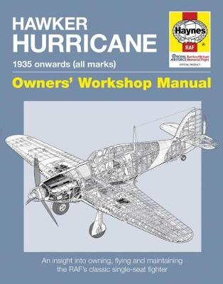 Book cover for product 9781785211645 Hawker Hurricane Manual