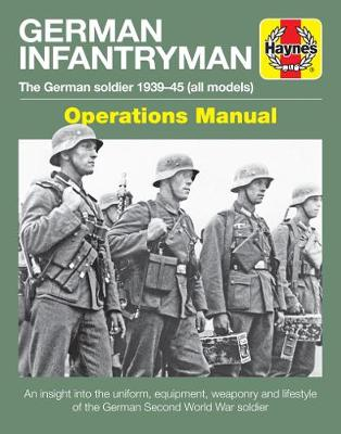 Book cover for product 9781785211683 German Infantryman Manual