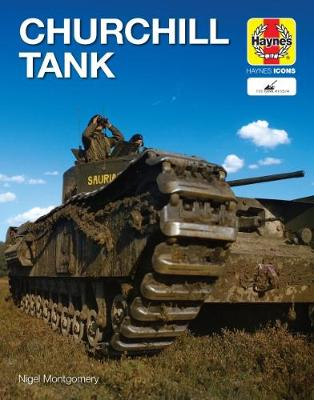 Book cover for product 9781785215919 Churchill Tank