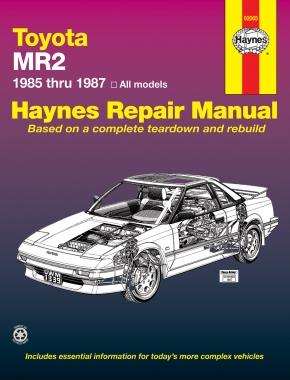 Book cover for product 9781850103394 Toyota MR2 1985-1987 Repair Manual