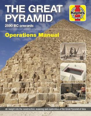 Book cover for product 9781785212161 Great Pyramid Manual: 2590 BC onwards