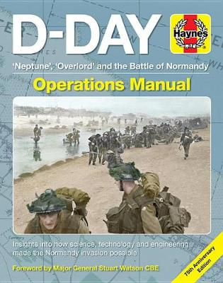 Book cover for product 9781785216558 D-Day Operations Manual: 75th anniversary edition