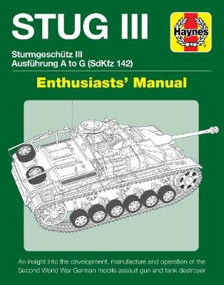 Book cover for product 9781785212130 Stug IIl Enthusiasts' Manual: Ausfuhrung A to G (Sd.Kfz.142)