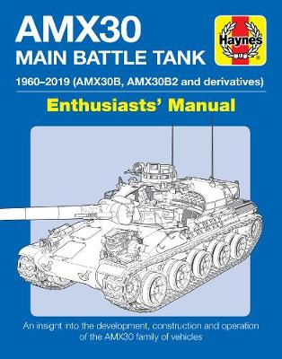 Book cover for product 9781785216480 AMX30 Main Battle Tank Enthusiasts' Manual: The AMX30 family of vehicles, 1956 to 2018