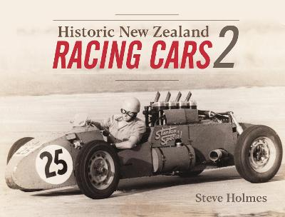 Book cover for product 9781988538785 Historic New Zealand Racing Cars Vol 2