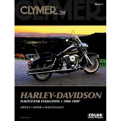 Book cover for product 9780892879168 Harley-Davidson 1984-1998 Repair Manual