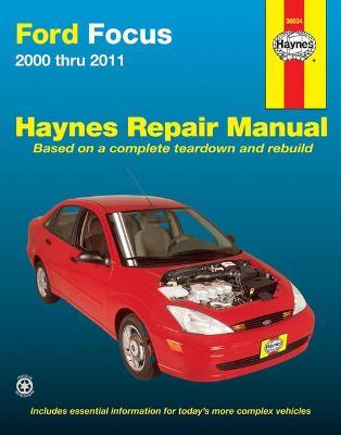 Book cover for product 9781620920008 Ford Focus 2000-2011 Repair Manual