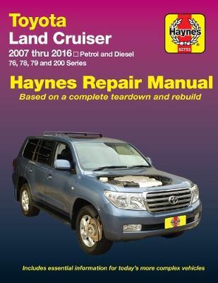 Book cover for product 9781620920695 Toyota Land Cruiser UZJ200R/URJ200R, VDJ200R/76R/78R/79R 2007-2016 Repair Manual